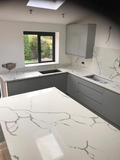 quartz kitchen worktops in Ruislip West London