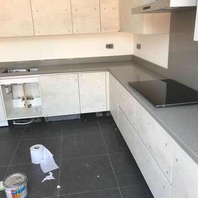 kitchen worktop installed in coventry town center