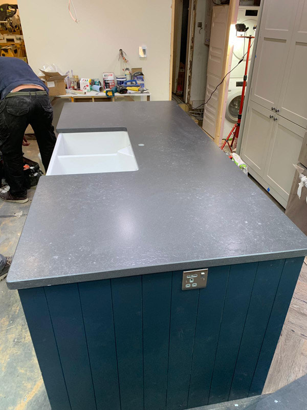 bespoke kitchen worktop